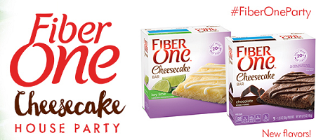 Fiber One Cheesecake House Party