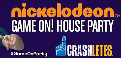 Nickelodeon GAME ON House Party