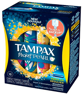 Tampax Pocket Pearl Tampons