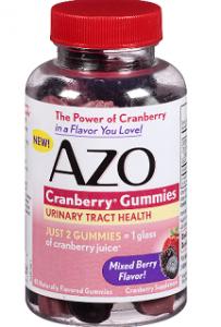 AZO Cranberry Gummies5