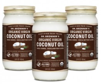 Dr Bronners Whole Kernel Organic Virgin Coconut Oil