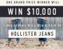 Hollister Co Jeans Giveaway Sweepstakes
