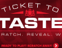 LM Ticket To Taste Instant Win Game