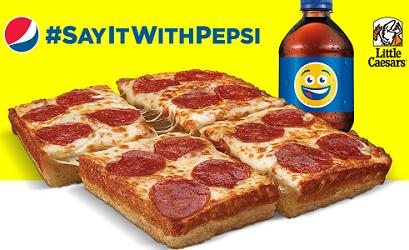 Pepsi-Cola and Little Caesars PepsiMoji Summer Sweepstakes