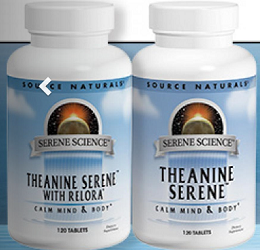 Source Naturals Theanine Serene with Relora