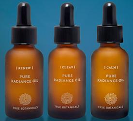 True Botanicals Face Oils