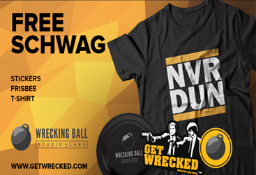 Wrecking-Ball-Studio-T-Shirt-Frisbee-and-Stickers