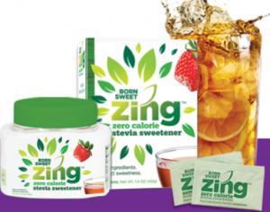 Zing Zero Calorie Stevia Sweetener
