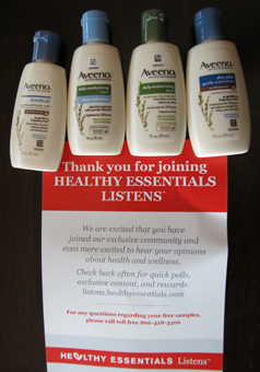 FREE Aveeno Lotions From Healthy Essentials - Hunt4Freebies