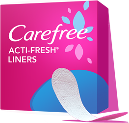 FREE Sample of Carefree Acti-F...