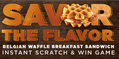 Dunkin Donuts The Savor The Flavor Instant Win Game