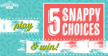 Harvest Snaps Prizes and Target Gift Card Sweepstakes
