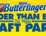 Nestle Butterfinger Bolder Than Bold Las Vegas Draft Party Sweepstakes