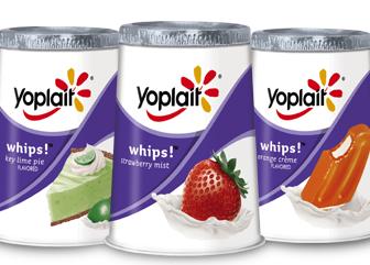 Yoplait Whips Yogurt