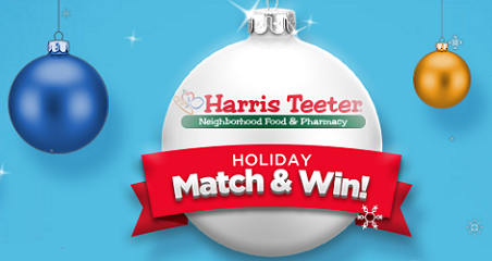 harris teeter holiday match win sweepstakes - Harris Teeter Christmas Hours