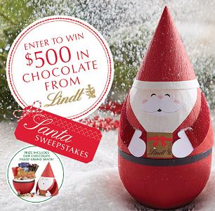 lindt-giant-santa-chocolate-sweepstakes