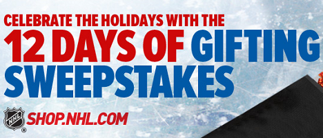 nhl-12-days-of-gifting-prizes-sweepstakes