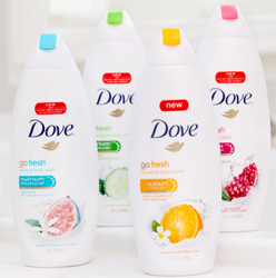 How do you get free samples from Dove?