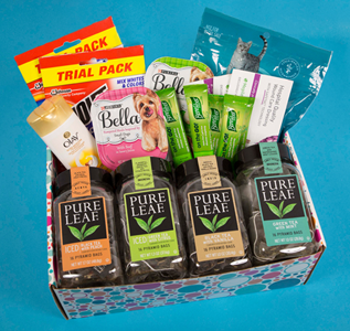 free sample box from pinchme live on september 18 at noon et