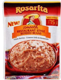 rosarita smooth refried beans