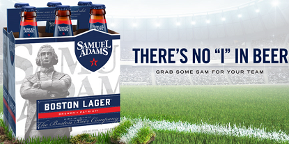 Samuel Adams THERE'S NO I IN BEER Sweepstakes (Over 5,000 Prizes