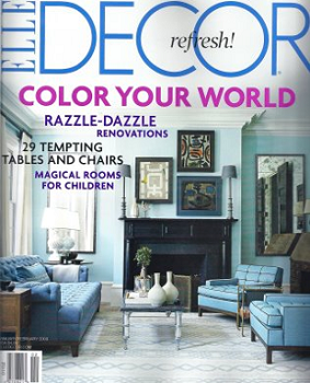 New Offer: Get A FREE Subscription To Elle Decor Magazine!