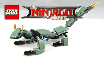 barnes noble is hosting a free lego ninjago movie event kids can build a lego ninjago green dragon mini model to take home with them