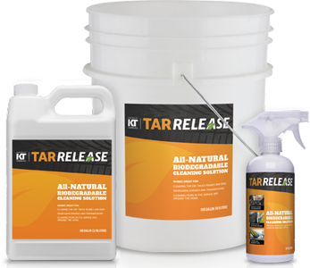 free tar release cleaning product sample
