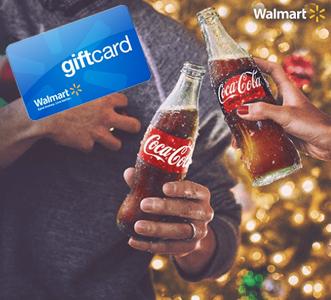 Coca-Cola $5 Walmart Gift Card Instant Win Game (50,000