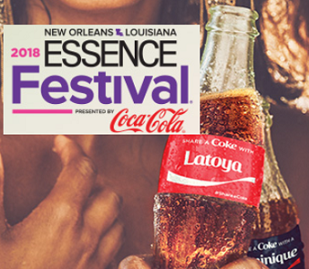 Coca Cola ESSENCE Festival Summer Sweepstakes & Instant Win