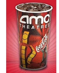 To Get A FREE Large Drink At AMC Theatres Download The Coke App For IOS Or Android Devices Then Login Register And Click Bottle Icon On Bottom