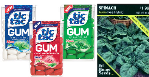 FREE Tic Tac Gum and Burpee or Ed Hume Vegetable Seeds at