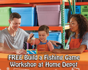 Free Build A Fishing Game Workshop For Kids At Home Depot On