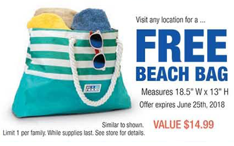FREE Beach Bag and FREE Hot Dog and Drinks at RC Willey Stores - Hunt4Freebies