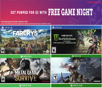 Free redbox movie codes through june 17th redbox is offering a free one night video game rental when you checkout online or in the redbox app no promo code is needed the fandeluxe Gallery
