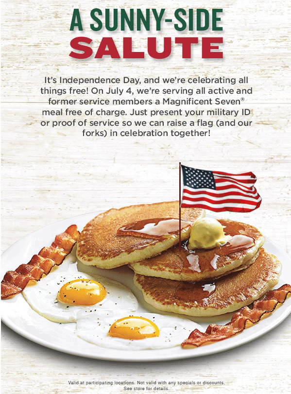 photograph relating to Perkins Printable Coupons identify Free of charge Breathtaking 7 Evening meal for Armed service Participants at Perkins