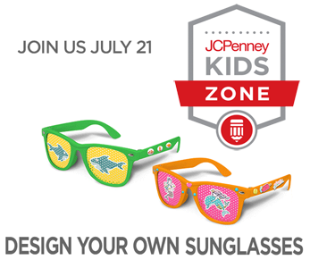 Free Design Your Own Sunglasses Event At Jcpenney On July 21st