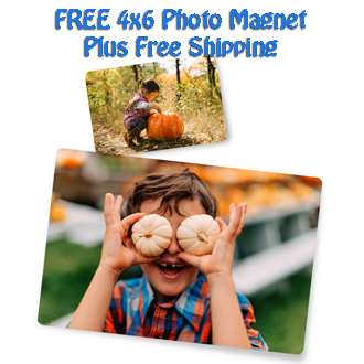 free 4x6 photo magnet plus free shipping from snapfish hunt4freebies