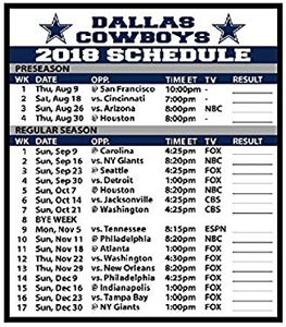 017942f8574 Get a FREE 2018 Dallas Cowboy Football Schedule Magnet! – Fill out the form.