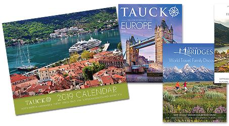 Tauck 2021 Calendar Background