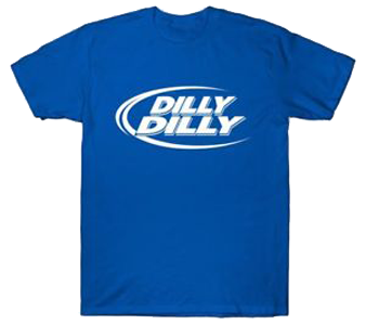 Bud Light Dilly Dilly T-Shirt Instant Win Game (1,800