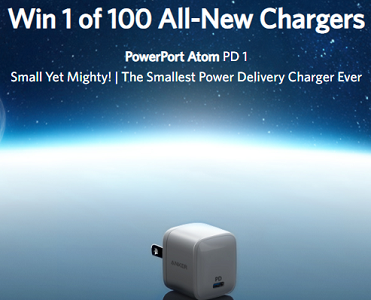 anker free giveaway anker powerport atom pd 1 charger giveaway freebiechief 3074