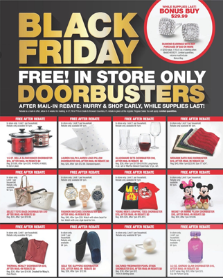 Mail In Rebate Offers >> Macy S Black Friday 2018 Ad 12 Free Items After Mail In