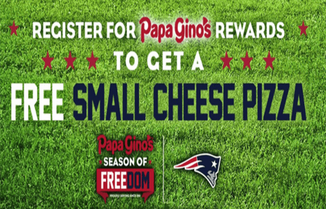 graphic about Papa Gino's Printable Coupons identify Free of charge Minor Cheese Pizza at Papa Ginos - Hunt4Freebies