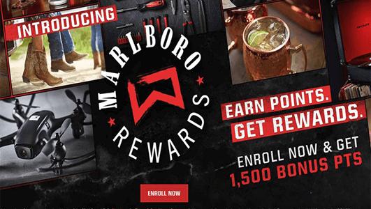 FREE 1,500 + Marlboro Rewards Points - Hunt4Freebies