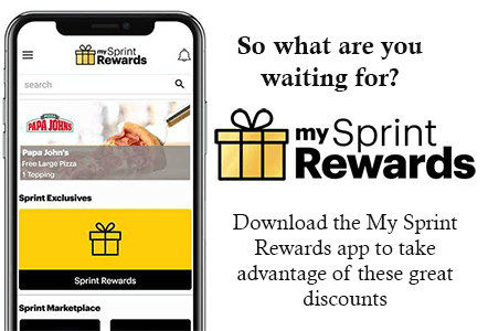 FREE Papa John's 1-Topping Large Pizza with Sprint Rewards app