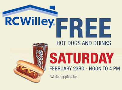 Image result for rc willey hot dogs