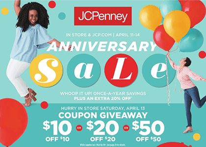 jcp coupon giveaway jan 2019