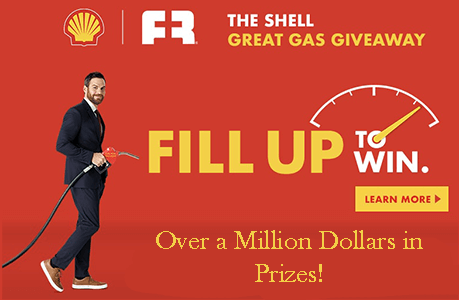 The Shell Great Gas Giveaway - Over a Million Dollars in Prizes