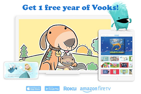 FREE 1-Year Vooks Books App Subscription for Teachers
